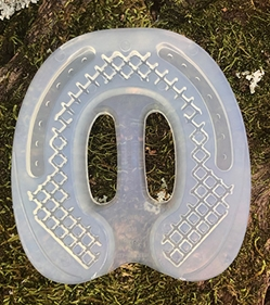 Clear Ground Control Horseshoes