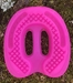 Hot Pink Ground Control Horseshoes  - GCHotPinkGC-Clear-000