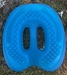 Turquoise Ground Control Horseshoes  - GCTurquoiseGC-Clear-000